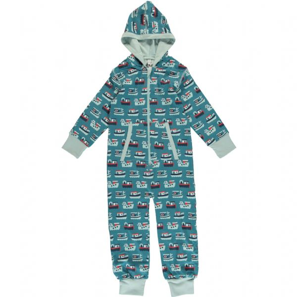 Maxomorra Hooded Onesie Trawler